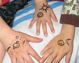 GALAXY ART DESIGNS FOR KIDS