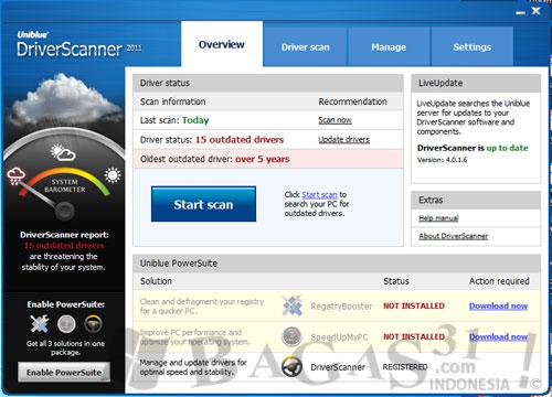Uniblue DriverScanner 2011 + Serial 2