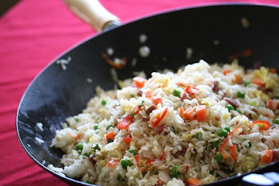 How to make chicken fried rice