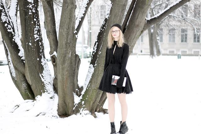 Schneewittchen Winter-Outfit