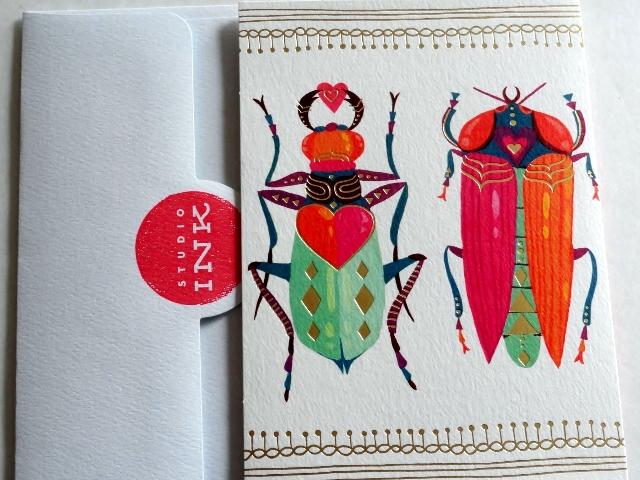 #Hallmark Beetle Valentine's Day Card MyWAHMPlan.com