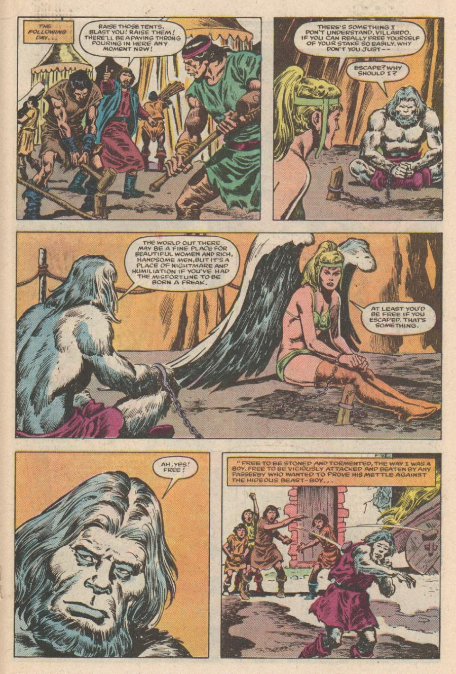 Conan the Barbarian (1970) Issue #168 #180 - English 14