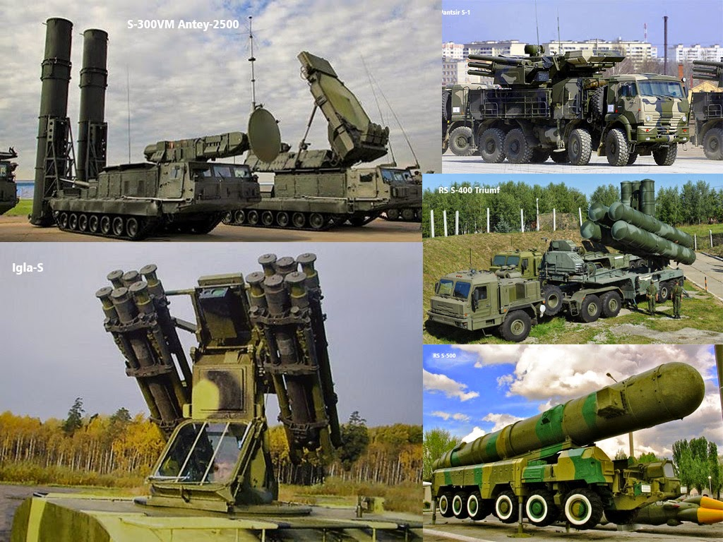 Mengintip Pertahanan Misil Terbaik Rusia