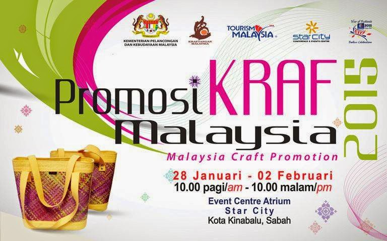 PROMOSI KRAF MALAYSIA SABAH AWAL TAHUN 2015