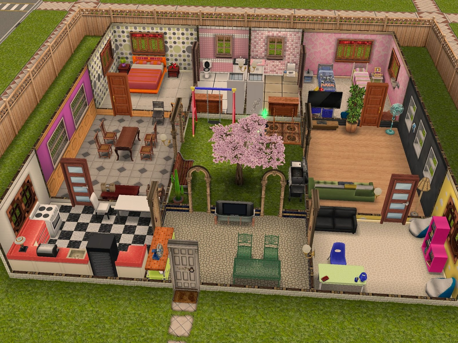 Housing Ideas the sims freeplay: weird housing ideas | all the world's a game