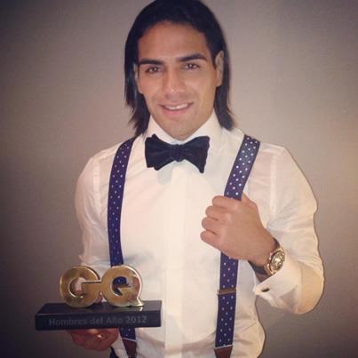 Falcao, Mejor Deportista del Año en los Premios GQ