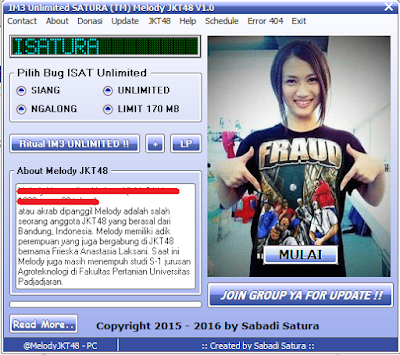 Download Inject IM3 Unlimited SATURA (TM) Melody JKT48 V1.0