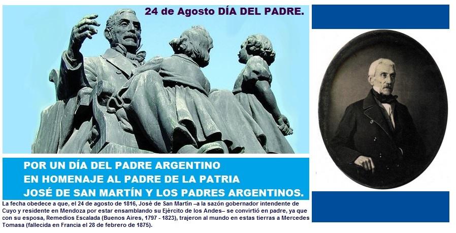 POR UN DÍA DEL PADRE ARGENTINO.