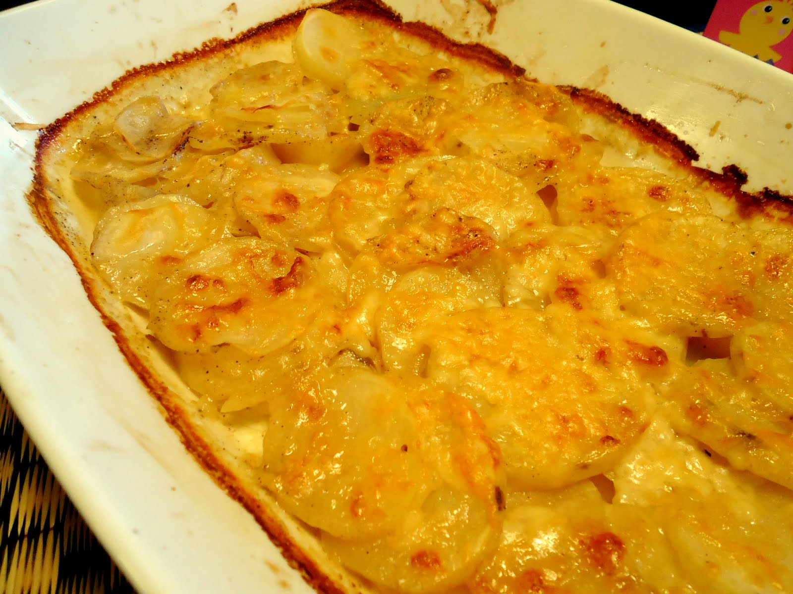 this woman cooks simple scalloped potatoes - Scalloped Potatoes ...