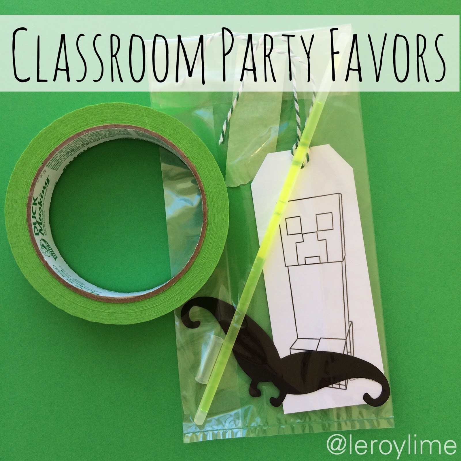 LeroyLime DIY Minecraft Party Ideas
