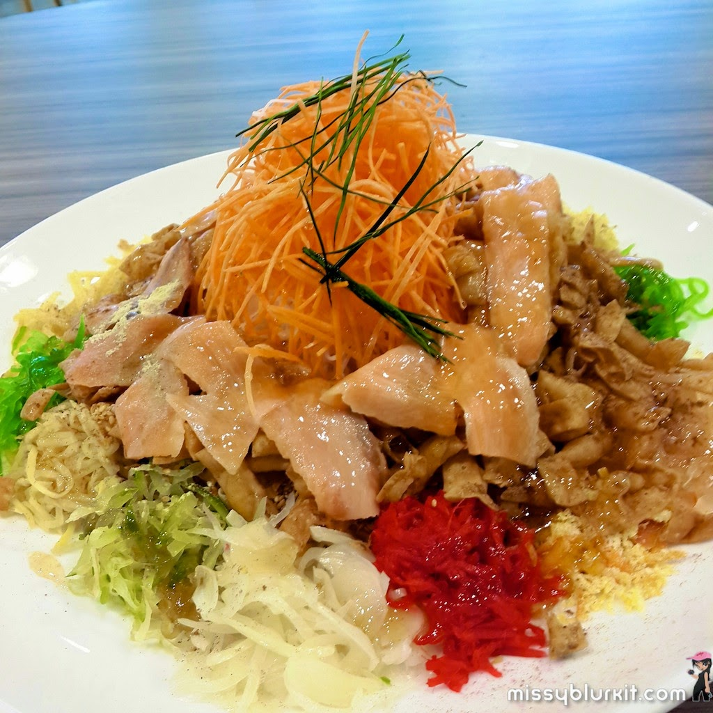 Halal, Poon Choy, pork free, TTDI, Golden Valley, www.offpeak.my, CNY, yee sang