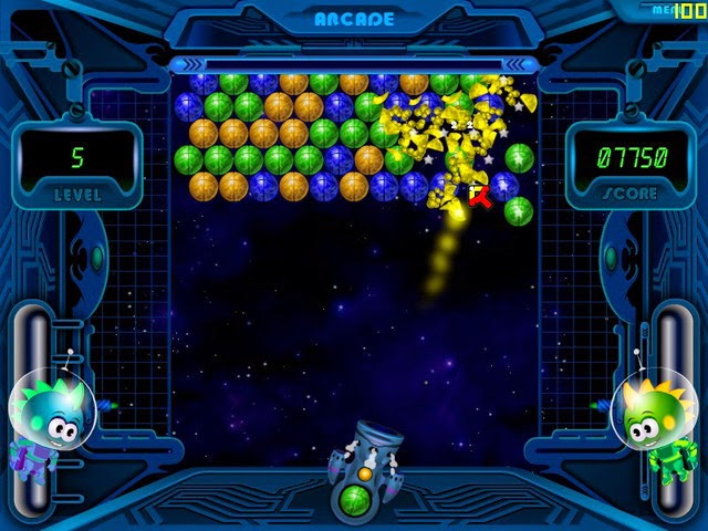 لعبة  Space Bubbles