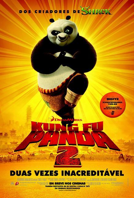 filme kung fu panda 2 poster cartaz