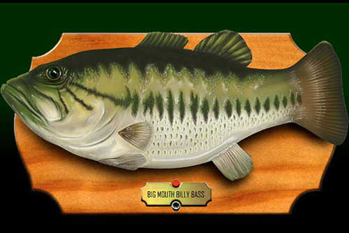 The skinny big mouth billy bass thwarts burglary attempt for Big mouth fish
