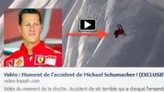 فيديو مزعوم حول حادثة شوماخر يحتوي على فيروس !