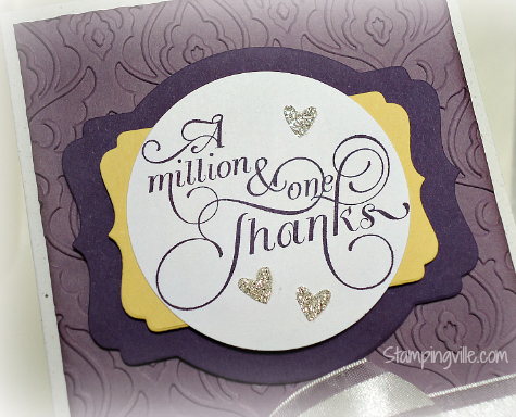Close-Up: Stampin' Up! Million & One card idea