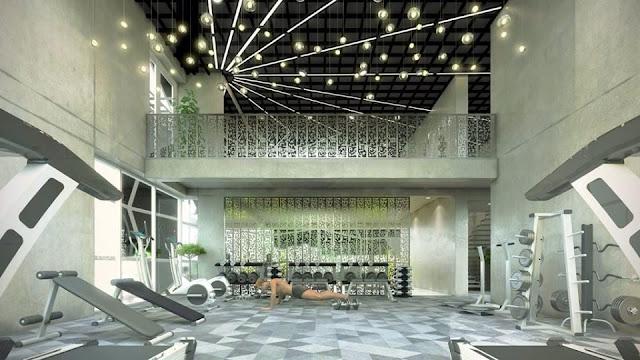 Phòng gym dự án căn hộ The Krista