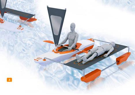 Kayak Top Speed of 25mph Top Speed