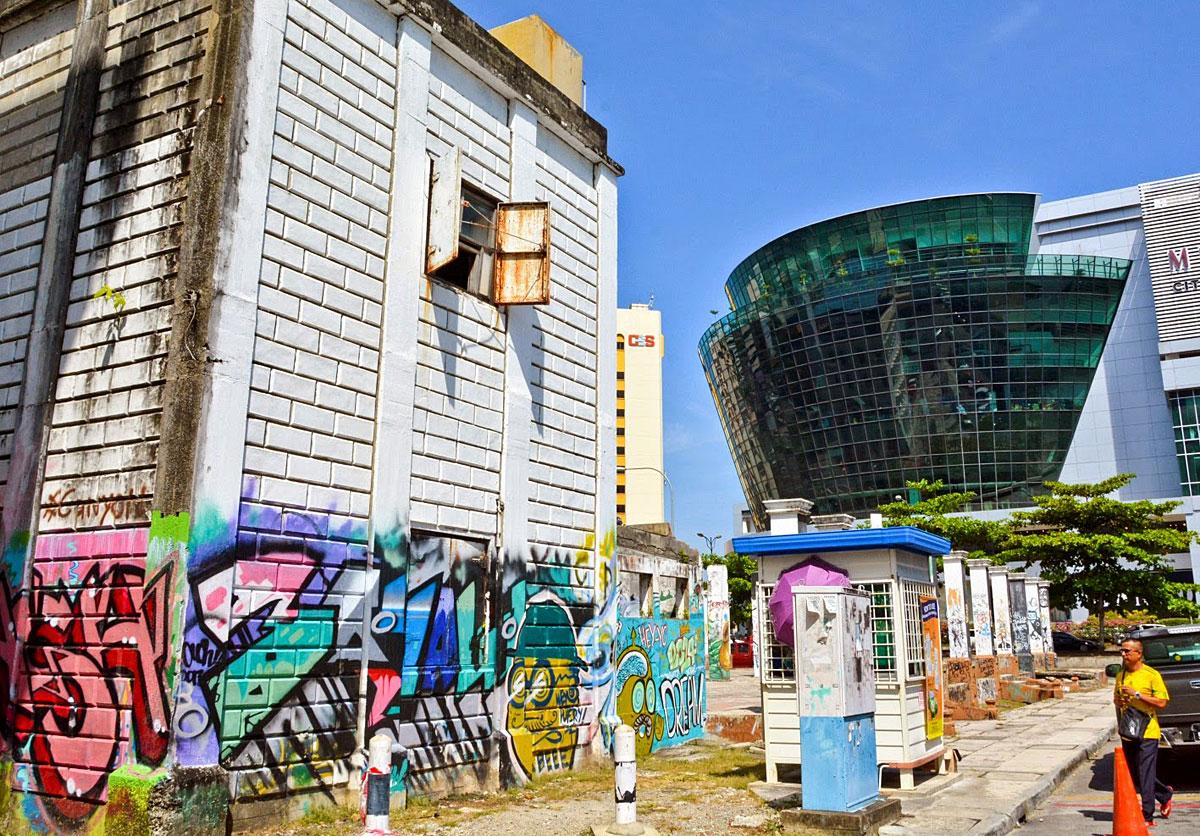 The Street Art Scene Or Graffiti In Kota Kinabalu Sabah