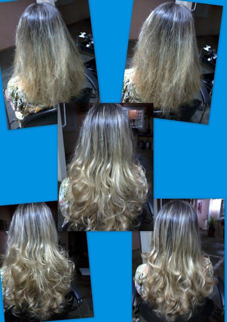 Alongamentos cabelo longo