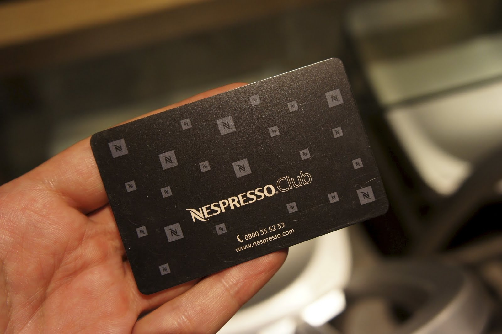 i  first person singular Nespresso Star Boutique  -> Nespresso Club