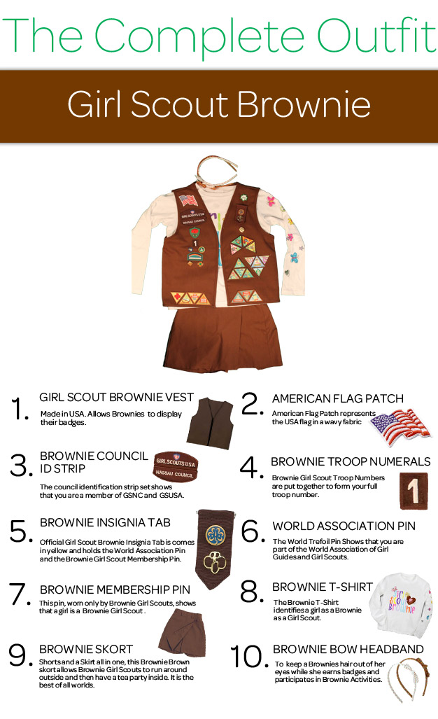 girl scouts of nassau county the complete outfit girl