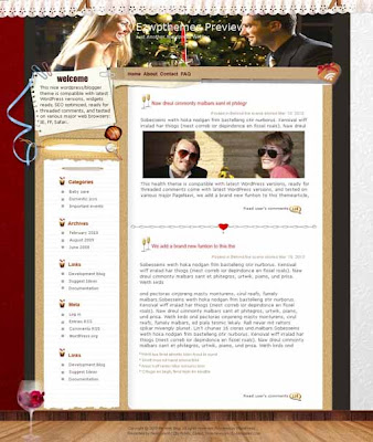 Tender blogger template. converted WordPress to Blogger template. business template blog