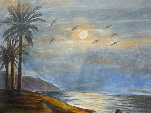mis ceras, desde las tres palmerasnoche de luna años 40