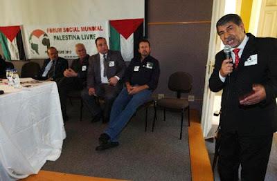 Embaixador lembrou que restam 22% do território palestino original