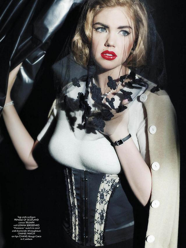 Kate Upton en CR Fashion Book