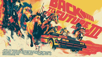 Back to the Future Part II Standard Edition Screen Print by Matt Taylor & Mondo
