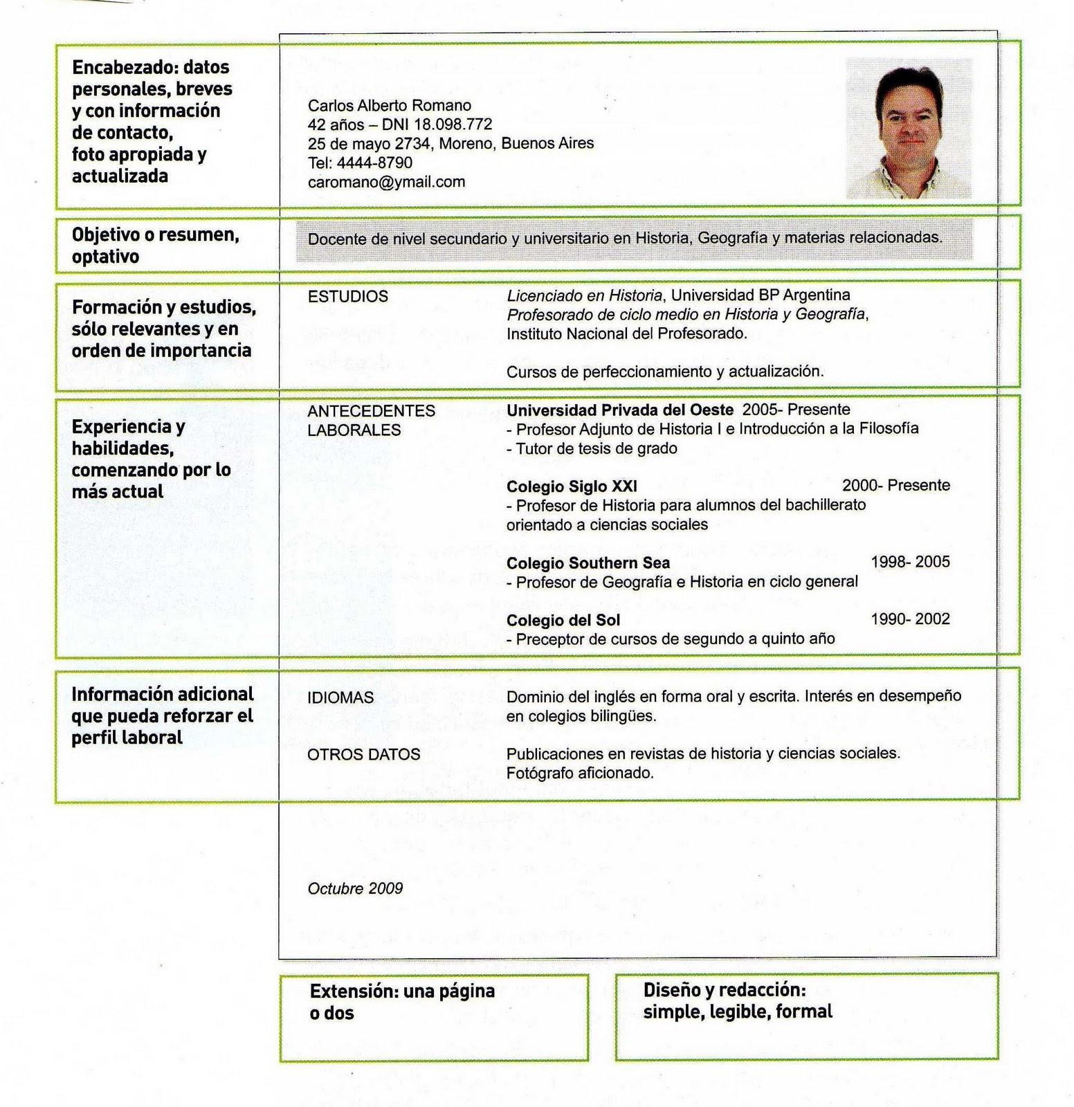 Curriculum vitae habilidades e competencias / order term paper