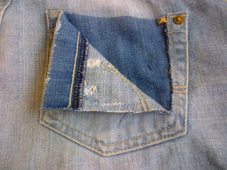 stud denim jeans shorts DIY