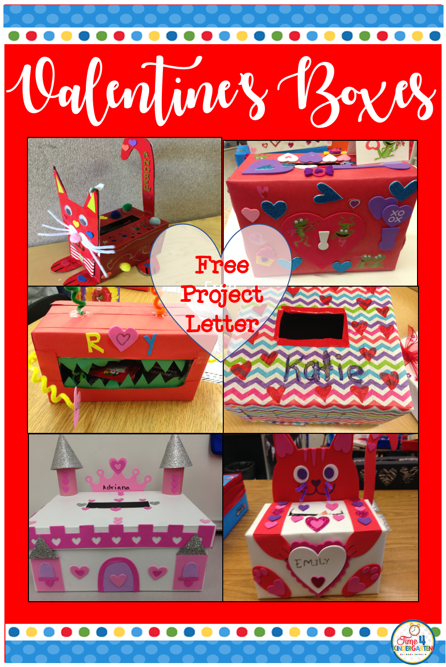 Free Valentines Box Family Project Letter. Have Your Students Create A Fun  Valentines Day Box