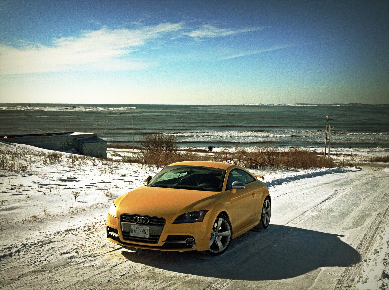 2015 Audi TTS Coupe Competition front