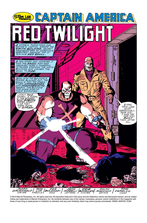 Captain America (1968) Issue #368 #301 - English 2