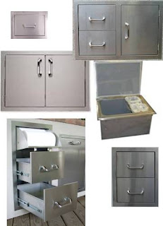 outdoor kitchen cooler