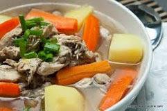 Resep praktis dan mudah membuat (memasak) masakan khas sop (sup) ayam spesial enak, lezat