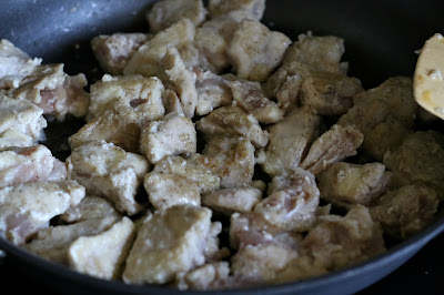 browning the chicken for 2 minutes on each side gets the flavor into the chicken!