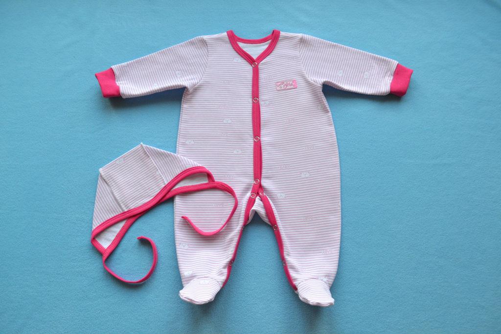 комплект на выписку, слип для новорожденного
