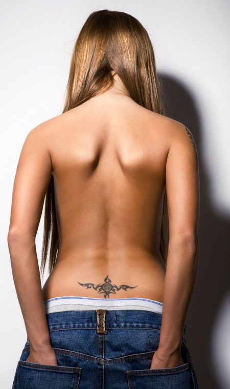 Tattoos Designs For Women Lower Back