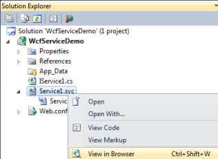create and consume wcf service example on www.webcodeexpert.com