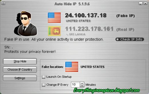 hide ip address software free
