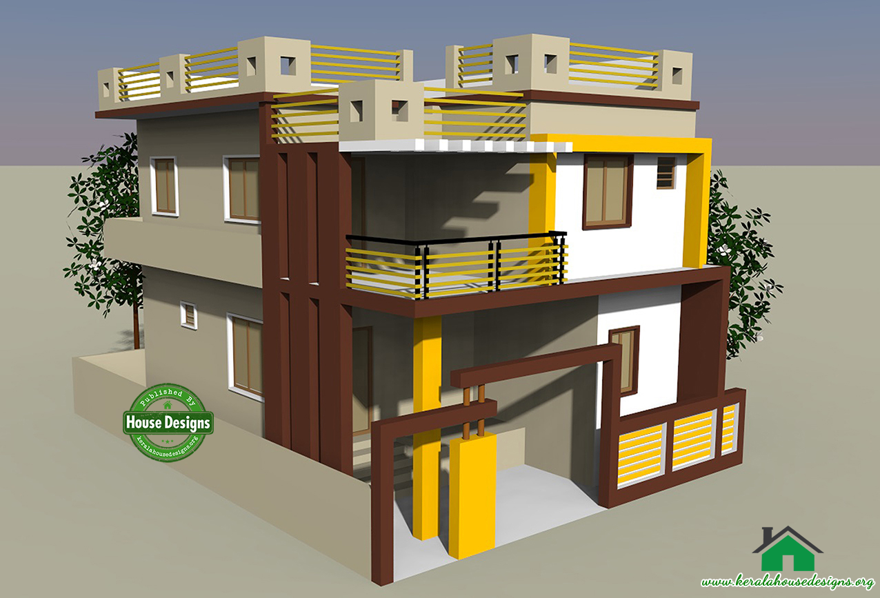 Kerala Home Design   Google . 3d Home Design Images Of Double Story Building. Home Design Ideas