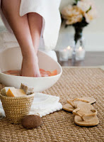 Spring care of your feet
