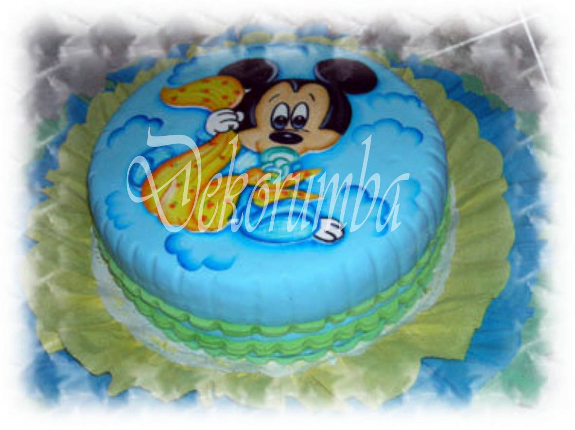 DekoRumba: Torta - Mickey Bebe