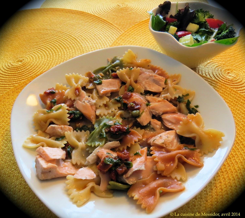 la cuisine de messidor p 226 tes au saumon frais sauce m 233 diterran 233 enne