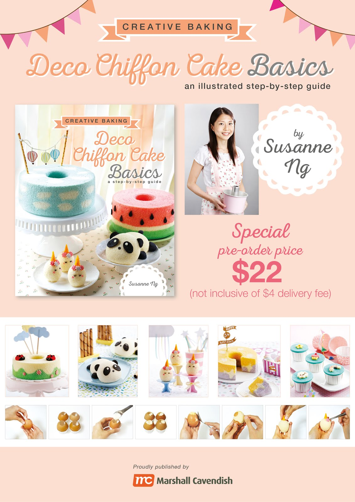 Pre-order for Deco Chiffon Cake Basics