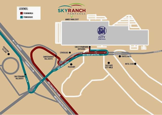 How to Get to Sky Ranch Pampanga