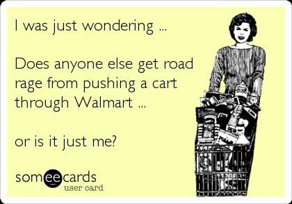 Shopping Cart Road Rage Meme